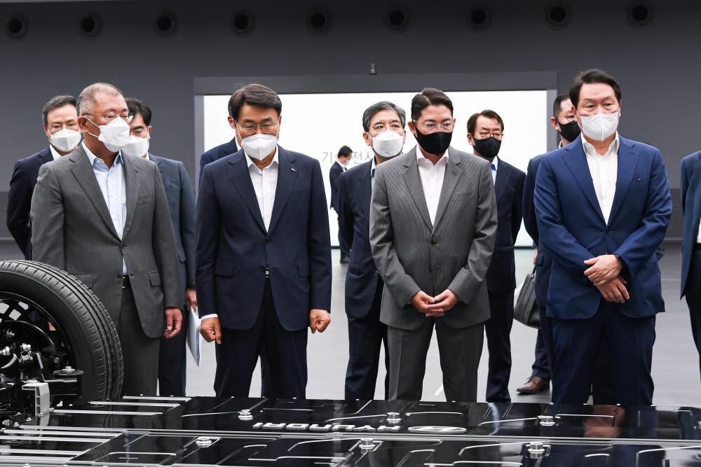 현대차 등 4개 그룹, 수소기업협의체 설립 추진