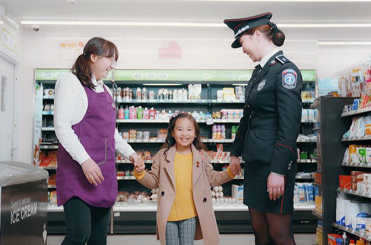 몽골CU와 울란바토르경찰청이 협력하여 실종·학대 예방 캠페인 아이CU에 동참한다
