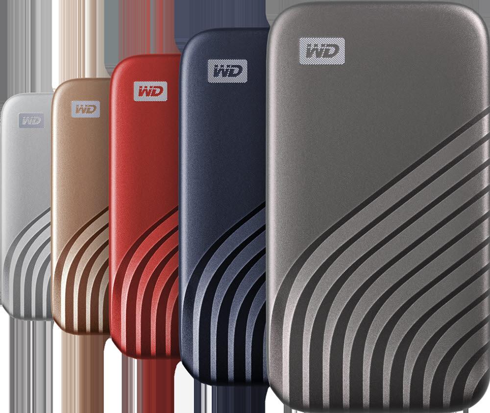 WD 마이 패스포트 SSD