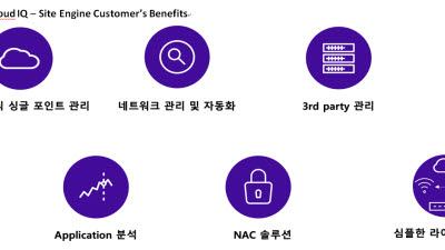 고객만족-익스트림네트웍스/통합관리제어 플랫폼/익스트림클라우드 'XIQ?SE'
