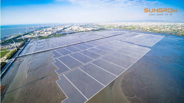 해상태양광프로젝트, 181MW (출처=선그로우)