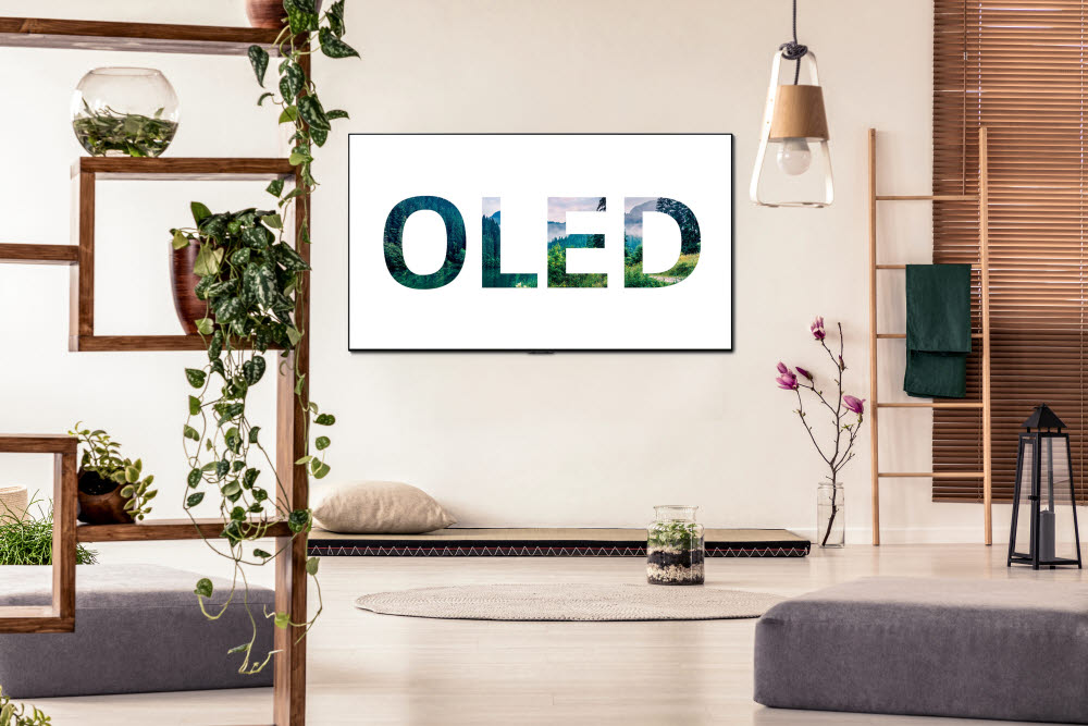 LG전자 올레드 TV는 친환경적 설계를 바탕으로 한다.
