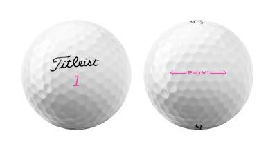 타이틀리스트, 2021 Pro V1 핑크 리미티드 에디션 출시