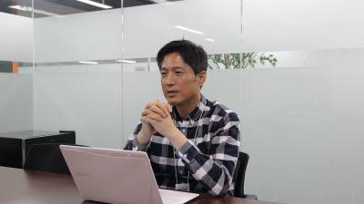 """김석환 위메이드트리 대표 """"블록체인은 게임시장 재편할 기술"""""""