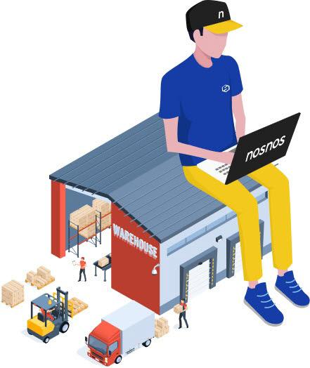 스페이스리버가 풀필먼트 기업을 대상으로 e커머스 특화 클라우드 창고관리시스템(WMS) 노스노스를 제공한다.
