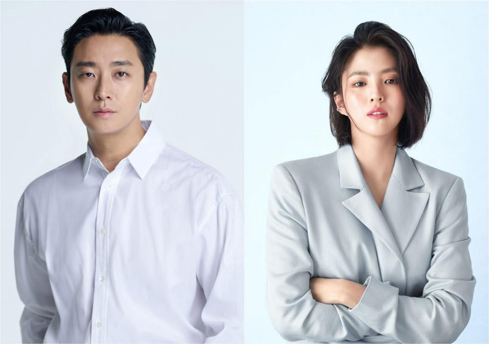 영화 젠틀맨 주연배우 주지훈(왼쪽)·한소희