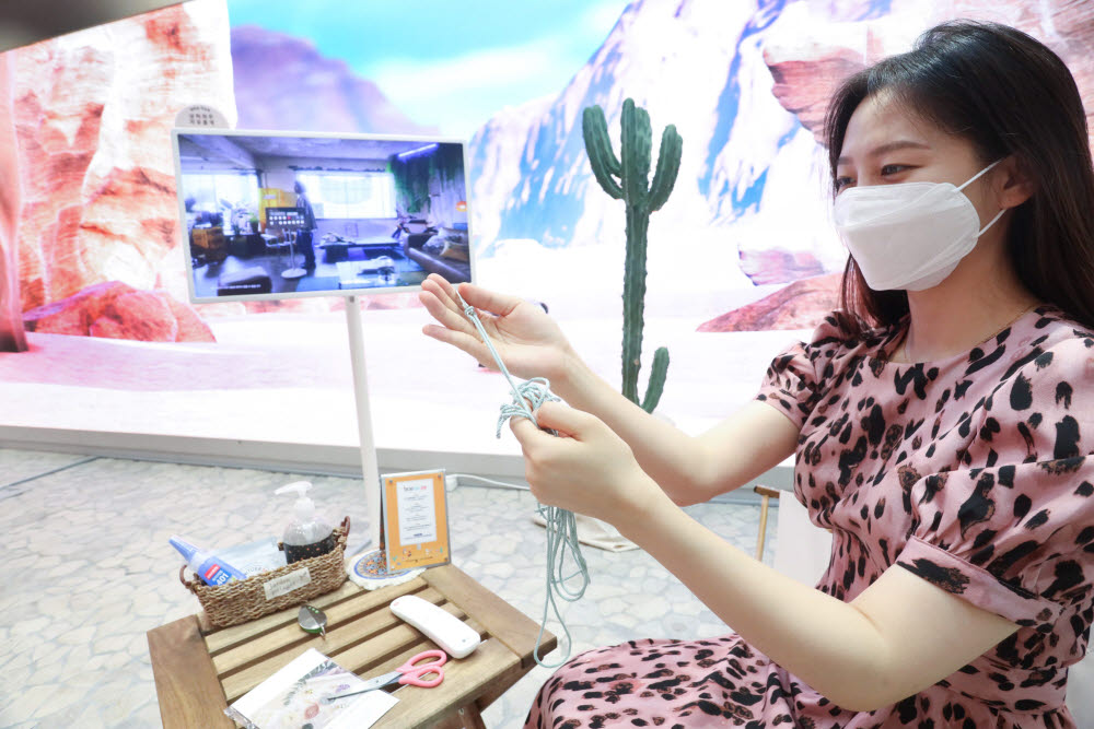 LG유플러스 '일상비일상의틈' 인디언 콘셉트 전시 오픈