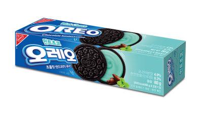 동서식품, 민초단 취향 저격...'오레오 민트초코 샌드위치 쿠키' 출시