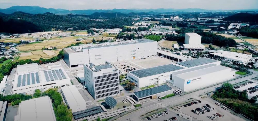 프라임 플래닛 에너지&솔루션 공장