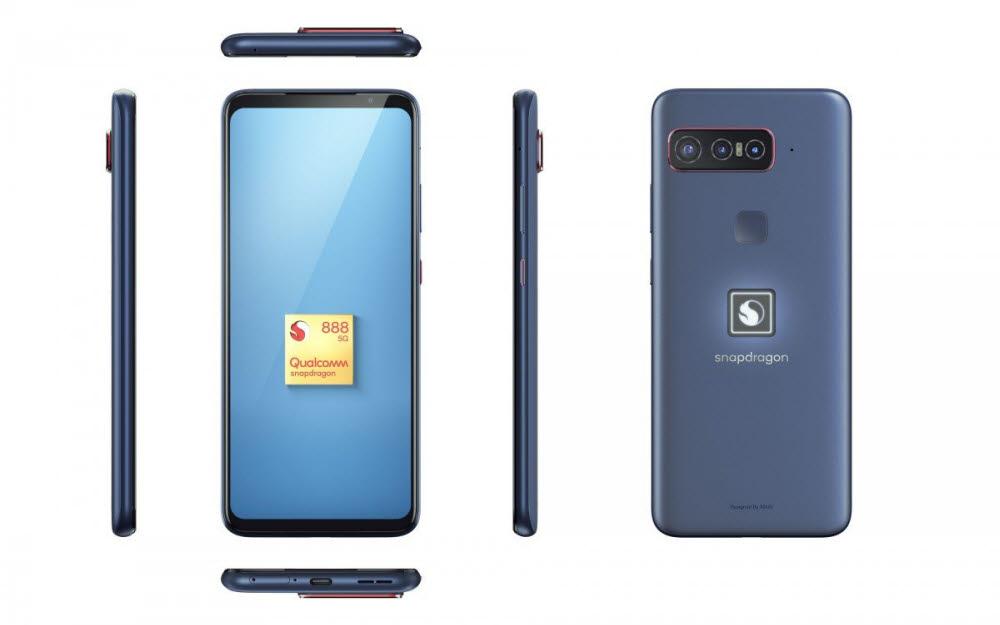에이수스가 생산하는 퀄컴 스냅드래곤 인사이더즈 전용 스마트폰