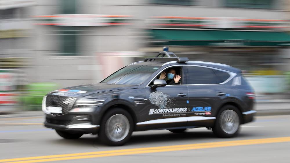 레벨4 자율주행차. 이동근기자 foto@etnews.com