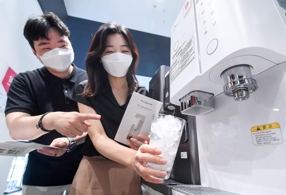 역대급 폭염에 얼음정수기 판매 급증