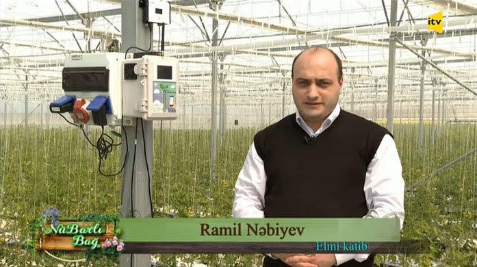 아제르바이잔 농림부에서 팜커넥트 솔루션을 소개하고 있다.