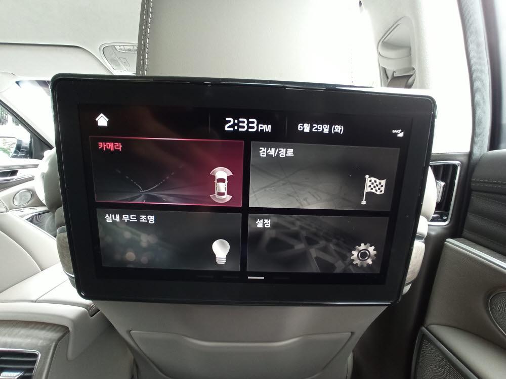 기아 더 뉴 K9 태블릿