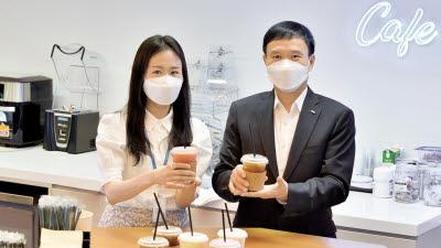 동양생명, 설계사·임직원들에 여름나기 '사랑의 커피' 선물