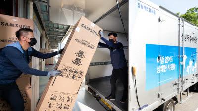 '폭염시작' 삼성 에어컨 판매량 2배 급증