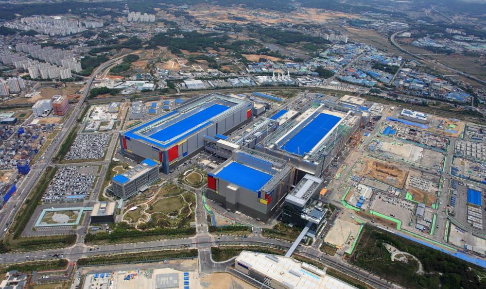 삼성 반도체 공장이 있는 평택캠퍼스 전경. <삼성전자 제공>