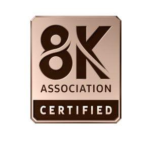 8K 협회 인증 로고