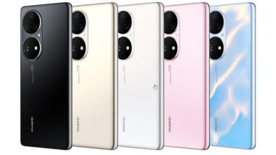 화웨이, 플래그십 스마트폰 P50 공개... 5G 버전 출시 무산