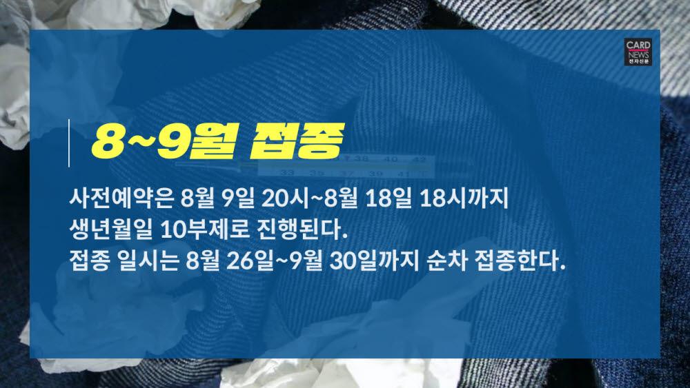 [카드뉴스]18~49세 코로나19 백신 예약 안내