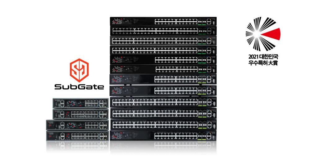 한드림넷 클라우드 보안 스위치 SG2400 시리즈. 한드림넷 제공