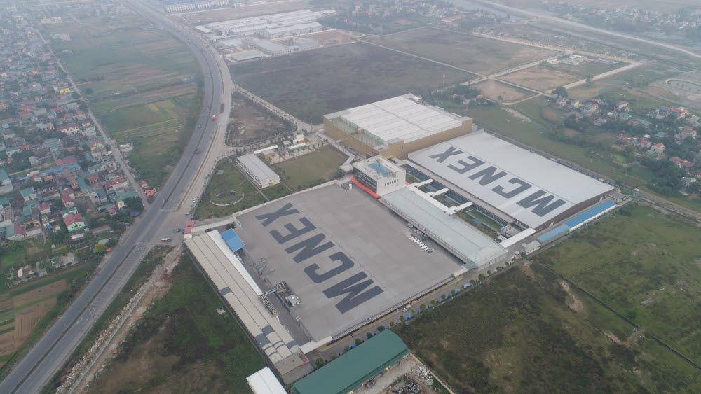 엠씨넥스 베트남 공장 전경. <사진=전자신문DB>
