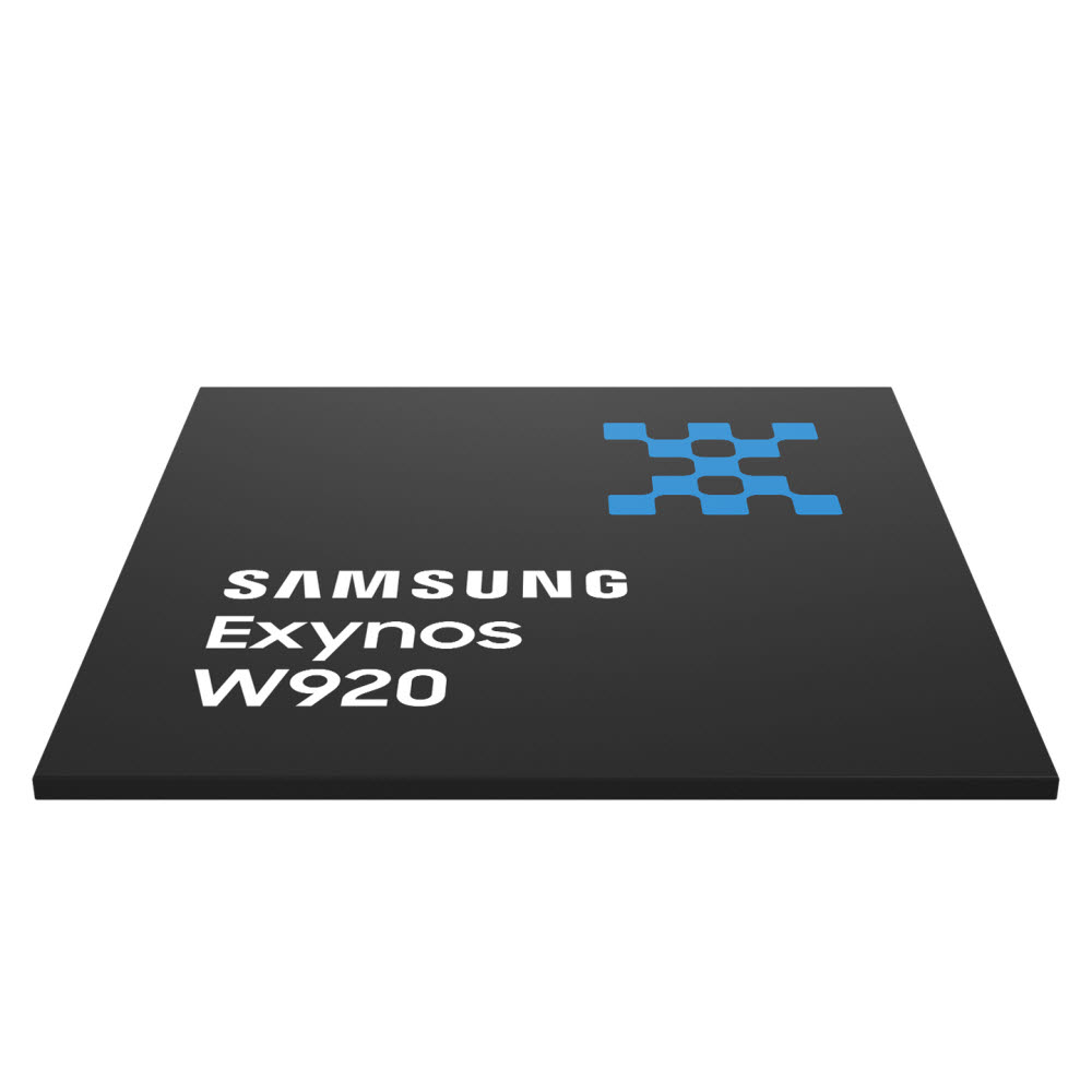삼성전자, EUV 적용 웨어러블용 '엑시노스 W920' 출시…'갤럭시 워치4'에 탑재