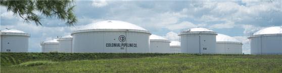 랜섬웨어 공격을 받은 미국 최대 송유관 업체 콜로니얼 파이프라인