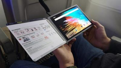 [IT핫테크]'기내 잡지도 디지털로' 에어버스, OLED 매거진 개발