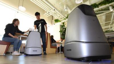 """인텔, 네이버랩스 '브레인리스' 로봇 개발 협력…""""5G 기술 융합"""""""