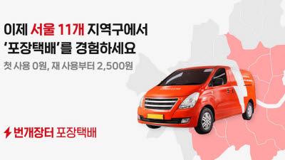 """번개장터, 포장택배 서비스 본격 확대…""""중고거래 배송 혁신 주도"""""""