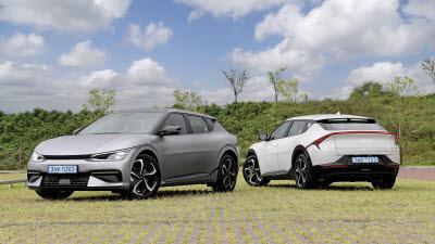 어니부기 닮은 기아 전기차 'EV6', 다재다능 매력 만점
