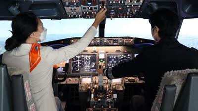 제주항공, 홍대호텔에 '비행 시뮬레이터' 체험 공간 운영