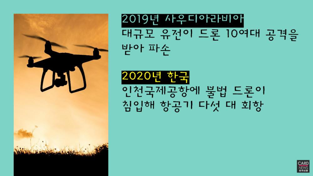 [카드뉴스]드론 잡는 안티 드론