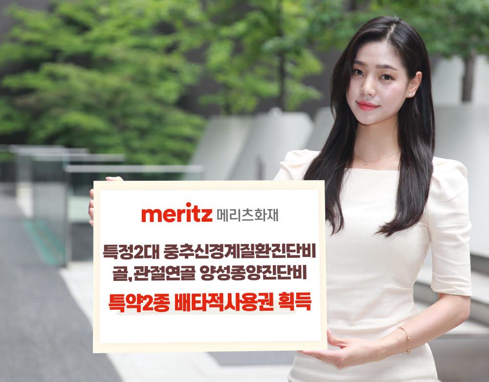 메리츠화재, '중추신경계·관절연골 진단비' 배타적사용권 획득