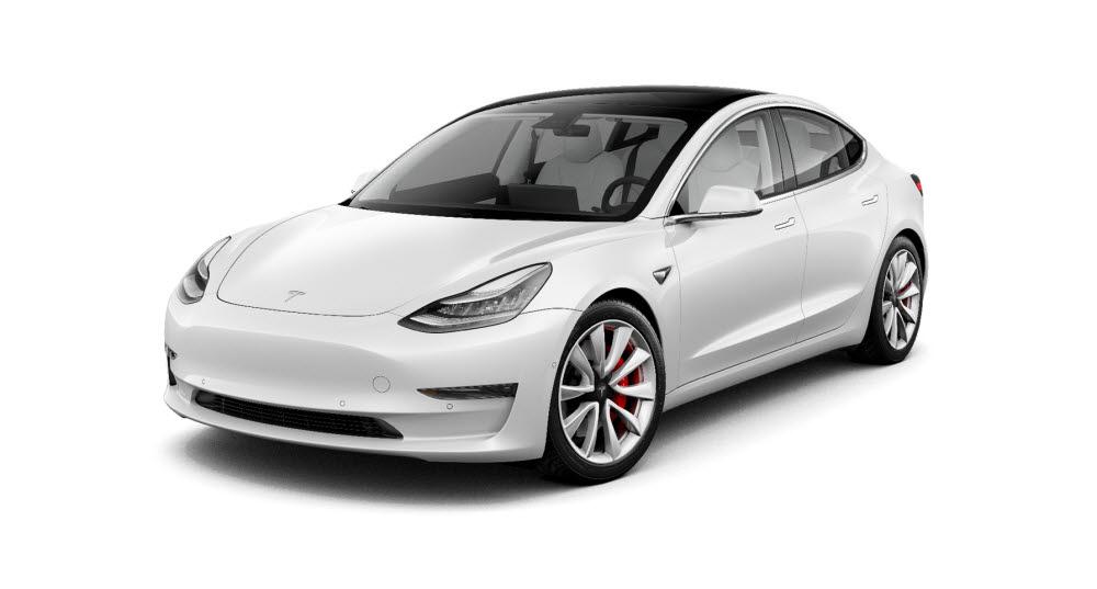 국내 전기차 누적판매량 1위를 기록 중인 테슬라 모델3.