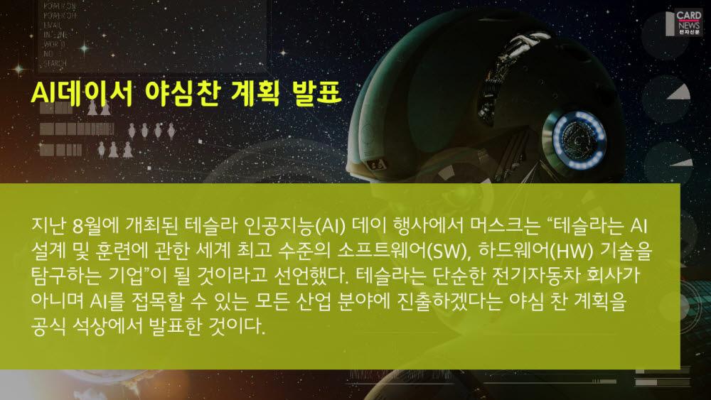 [카드뉴스]'테슬라봇' 상용화 도전