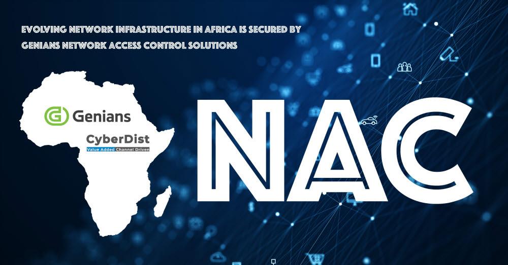 지니언스가 아프리카 교육기관에 NAC 솔루션을 수출했다. 지니언스 제공