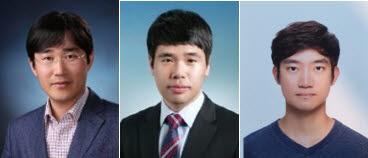 (사진 왼쪽부터)서울대 공대 기계공학부 고승환 교수, 하인호 박사과정생, 김민우 박사과정생