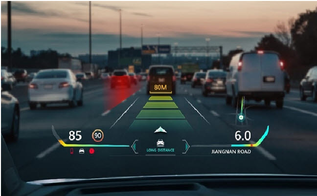 화웨이, IAA 모빌리티 2021에서 새로운 주행 경험 제공할 AR-HUD 선보여