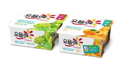 빙그레, 요플레 신제품 '살구·샤인머스캣' 2종 선봬