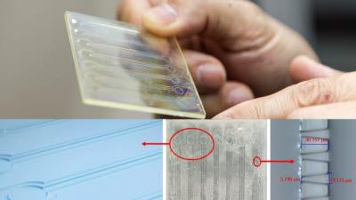 기계연, 미세유로칩 양산 기술로 바이오 핵심 소재 리포솜 대량 생산 길 열어