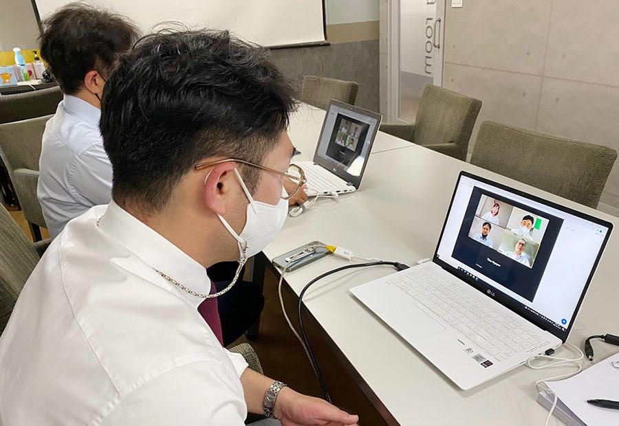 토마토시스템은 베트남과 인도네시아 시장 진출을 위해 동남아 ICT솔루션 온라인 화상상담회에 참가했다.