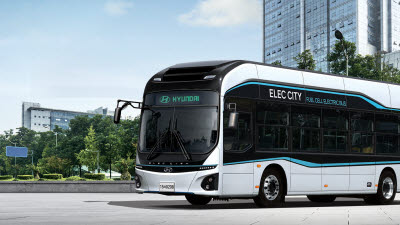 자율주행 '수소전기버스', 내년 세종시 달린다