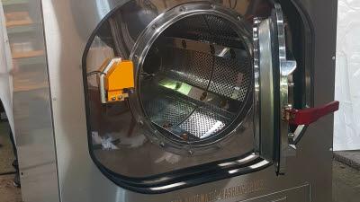 재산, 세척·건조·살균 한 번에 '플라즈마 드럼 세탁건조기' 무인셀프 빨래방 시장 겨냥 출시