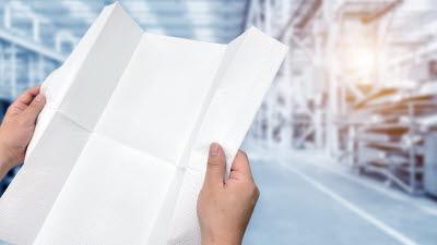 KEIT 지원 '종이 소수화 기술', 유한킴벌리 신제품에 적용