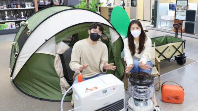 """롯데하이마트 """"이른 가을부터 캠핑용 히터 인기"""""""