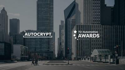 아우토크립트, TU-오토모티브 어워드 '올해의 자동차보안' 최종후보 선정