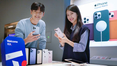 SK텔레콤, 아이폰13 시리즈 판매 개시
