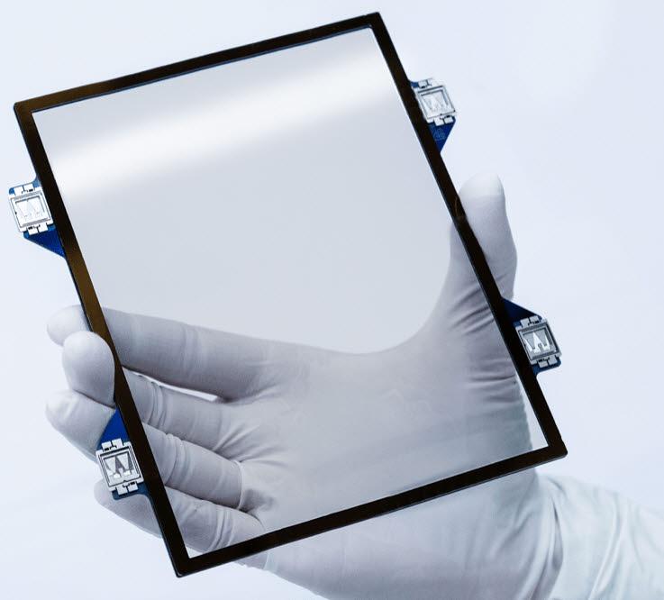 벨기에 반도체 연구소 IMEC의 탄소나노튜브 펠리클 (자료=IMEC)